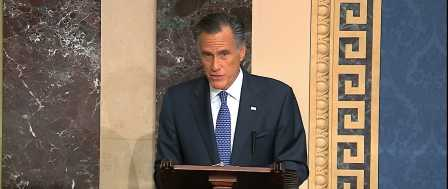 TV News Fawns Over Romney's 'Profile in Courage' Vote to Convict Trump