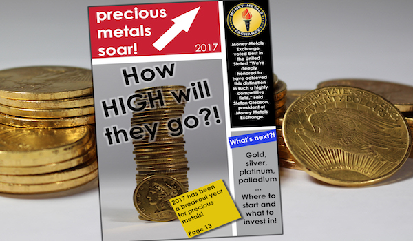 Experts predict increasing prices for Gold Bullion, Money Metals Exchange brings its 'A' game in preparation of MASSIVE gains!