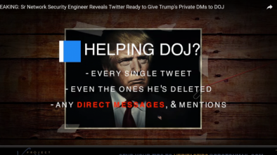Undercover Video Expose Twitter Employees Want to Remove Trump from Office