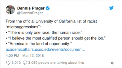 Univ of CA at Los Angeles: Saying 'I'm Not Racist' is Racist