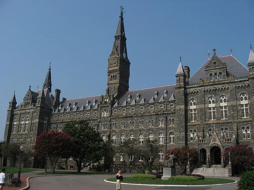 Georgetown University campus photo