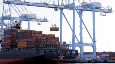 US Trade Deficit Falls by 8.2% in November