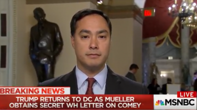 VIDEO: Dem Rep. Says Firing Comey is 'Grounds for Impeachment'
