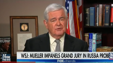 VIDEO: Gingrich Says Swamp is in Survival Mode Against Trump