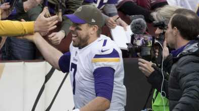 Vikings QB: 'Giving My Life to Jesus & Marrying My Wife' Better Than Winning