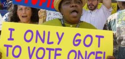 STUDY: Voter ID Suppression of Minority Turnout Not Proven