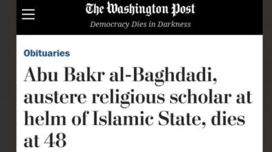 WaPo Describes ISIS Terrorist Baghdadi as 'Austere Religious Scholar'