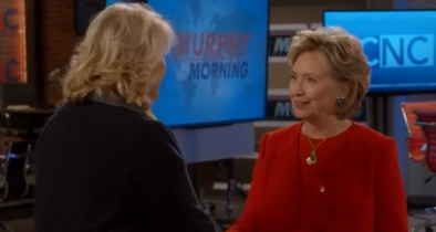 Washed-Up Hillary Makes Cameo on Washed-Up 'Murphy Brown' Reboot