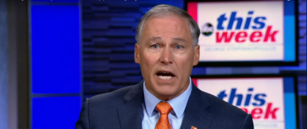 Washington State Gov. Jay Inslee Sees Climate Change as His Path to the White House