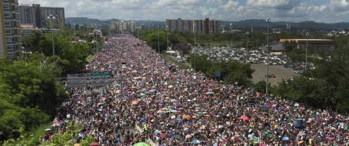 Waves of Puerto Ricans Demand Resignation of Corrupt Gov. Ricardo Rossello