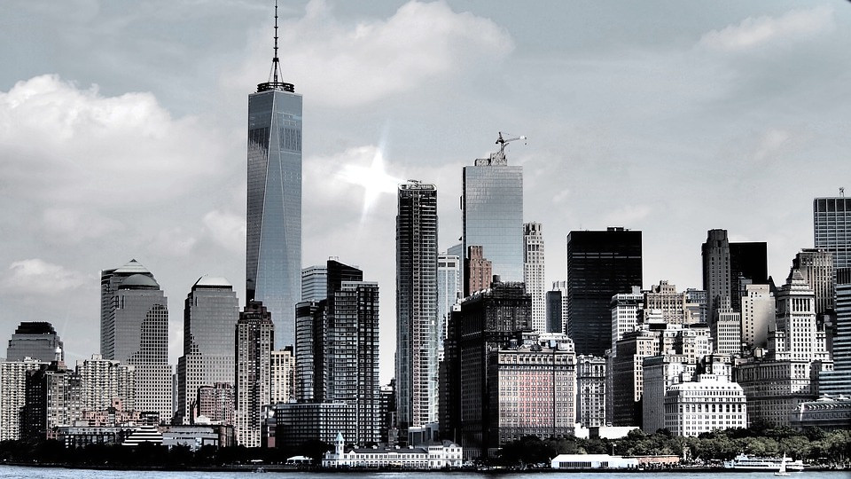 New York City sky line photo