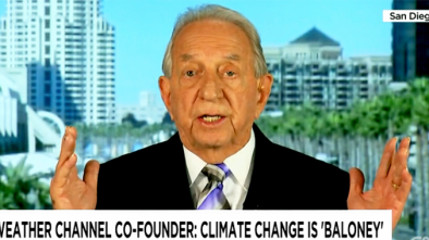 Weather Channel Founder: 'Put Me to Death' for Denying Man Made Global Warming