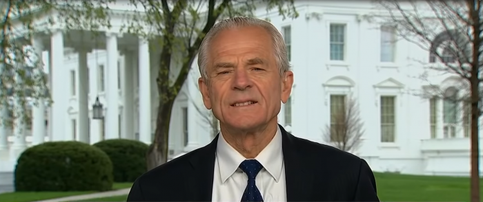 White House Economist Peter Navarro Rips Big Pharma for Opposing 'Buy American' Order
