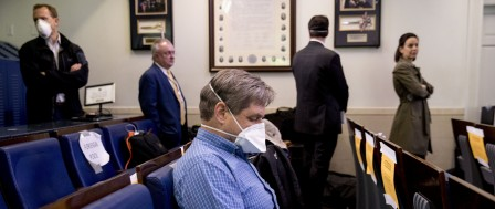 White House Tests Journalists for COVID-19