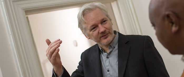 WikiLeaks Founder Assange Is Willing to Testify in Russian Investigation