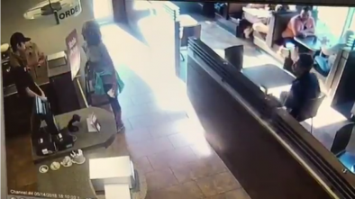 Woman Poops On Tim Hortons Restaurant Floor, Throws Feces At Employee