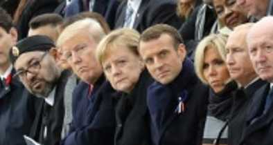 World Leaders Bash Trump-Style Nationalism at WWI Centenary Gathering