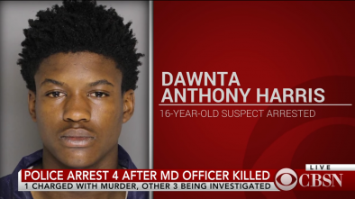 Young Black Man Killed White Woman Police Officer in Maryland